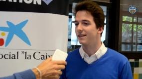 """Luis Del Valle: """"Este premio valora el esfuerzo de compaginar baloncesto y estudios"""""""