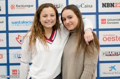 Paula Bécker y Rocío Guerrero, geniales cantantes