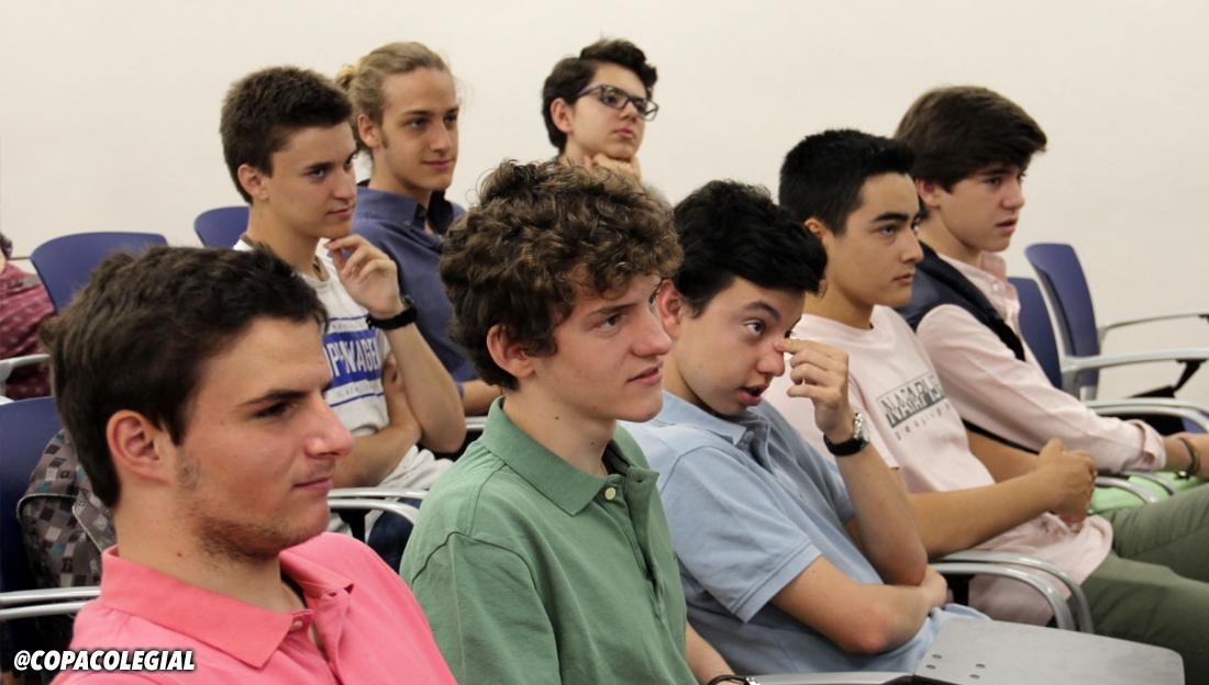 Galería de fotos del Talento Colegial de José Luis Llorente en Fomento Fundación