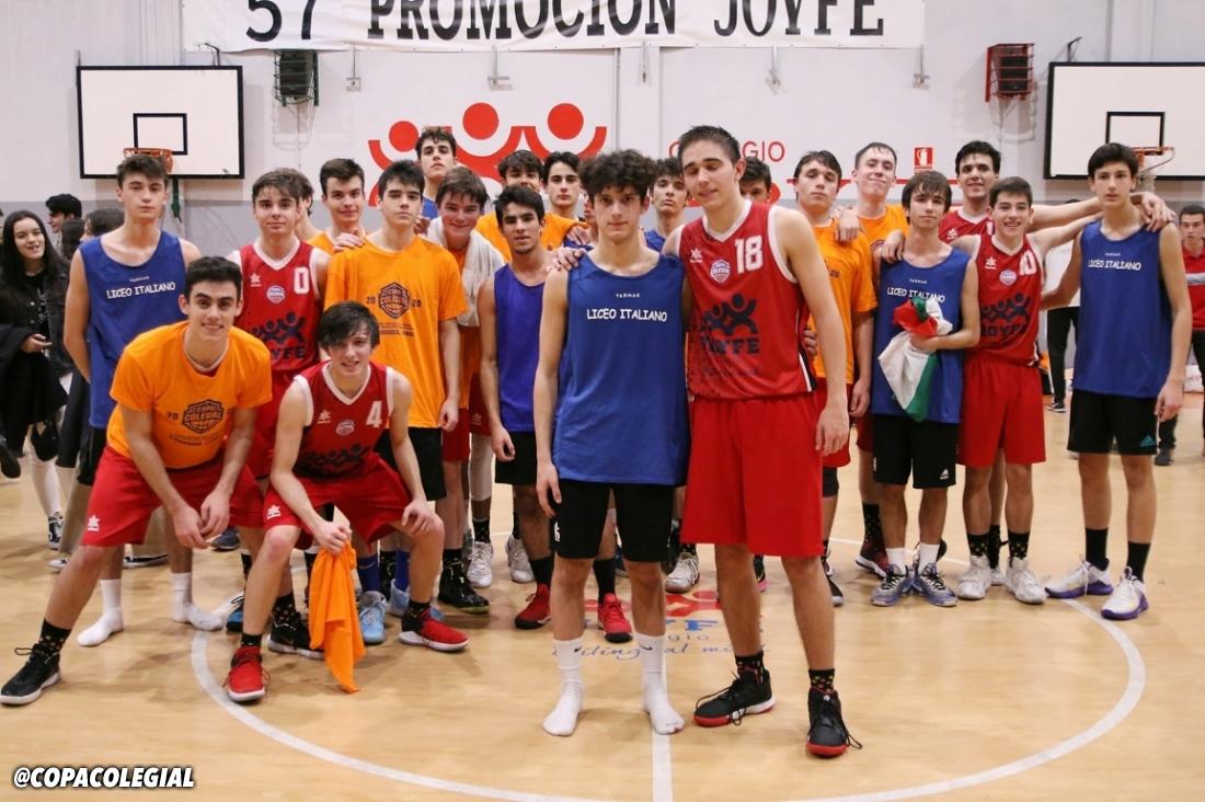 Joyfe vs. Liceo Italiano (Masculino)