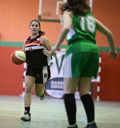 Patricia Crecis, en acción