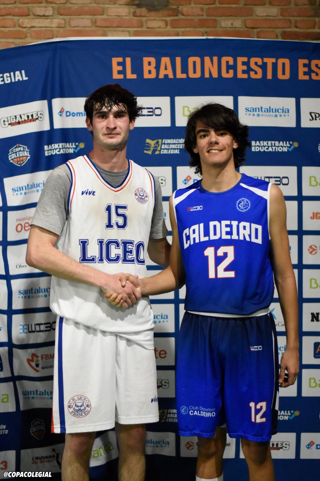 Liceo Francés vs. Caldeiro (Masculino)