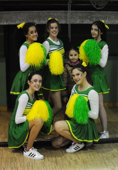 Cheerleaders de Mirabal.