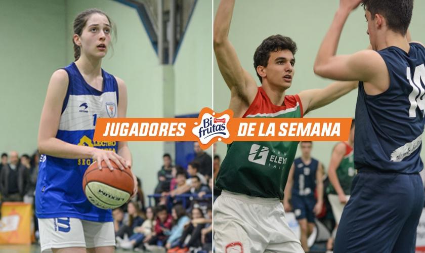María Angulo y Julen Angulo son los MVP de la Copa Colegial en Vitoria 2019