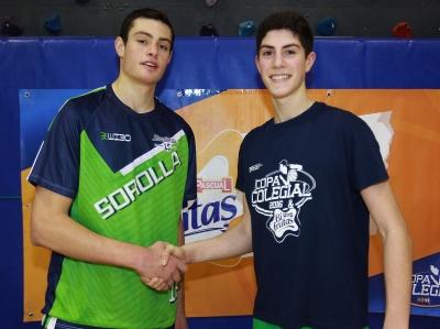 Pablo Dominguez y Jaime García