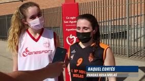 """Marta Palacio y Raquel Cortés: """"La Copa Colegial te da la oportunidad de jugar por tu colegio"""""""