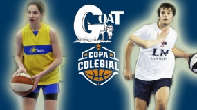 Marta Pozo y Nacho Perales, elegidos G.O.A.T. de Copa Colegial Zaragoza