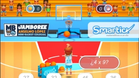 MateCopa Smartick: Matemáticas y baloncesto para los más pequeños