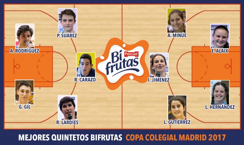 Mejores Quintetos Bifrutas Madrid 2017