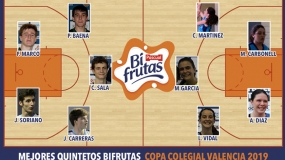 Mejores Quintetos Bifrutas Valencia 2019
