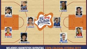 Mejores Quintetos Bifrutas Vitoria 2019