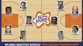 Mejores Quintetos Bifrutas Zaragoza 2019