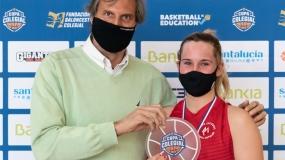 Mireya Gracia, Mejor Jugadora de la Copa Colegial Zaragoza 2020