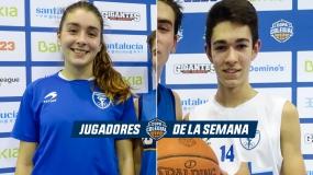 Miriam Besga y Aimar Lopez, MVP de la primera jornada en Vitoria