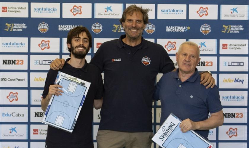 Nacho Monzón y Javier Galiana, dos campeones, entrenadores Spalding 2019