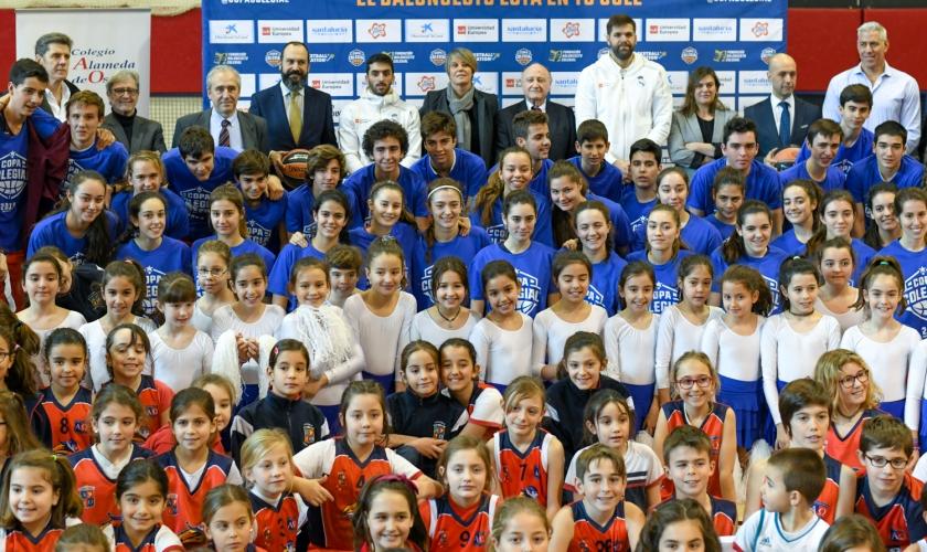 Nadie se la pierde: Reyes y Campazzo, en la presentación nacional de la Copa Colegial