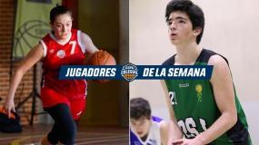 Ídolos en sus coles:  Alejandro Hernández y Nerea Mora, mejores jugadores de la Semana en Madrid