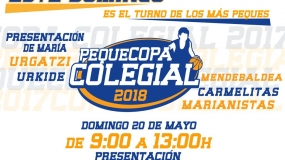 ¡No te pierdas la PequeCopa Colegial Vitoria 2018!