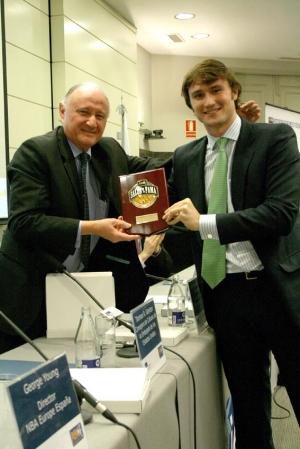 Juan Miguel Goenechea con Alberto López Ribé