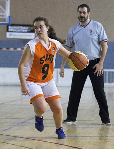 Irene Forcada, MVP del partido