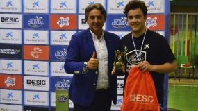 Pablo Melchor, Mejor Jugador de la Copa Colegial Valencia 2018