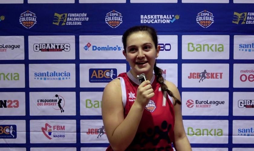 Palabras de la MVP de Madrid: entrevista con Nerea Mora, mejor jugadora de la Semana