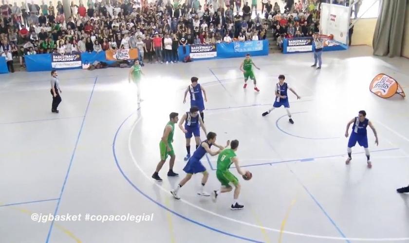 Para disfrutar: el top5 de la Gran Final de la Copa Colegial Madrid 2018 (VÍDEO)