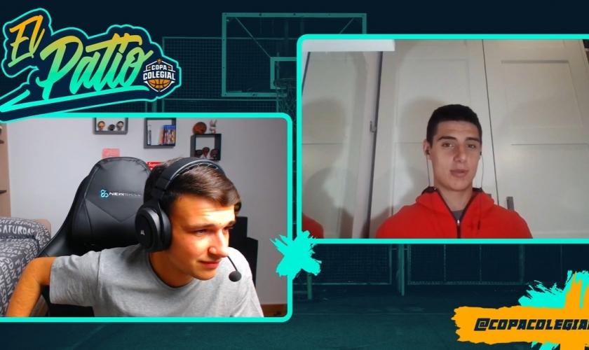 El Patio. Programa 16. Al habla con el último MVP de la Copa Colegial Zaragoza