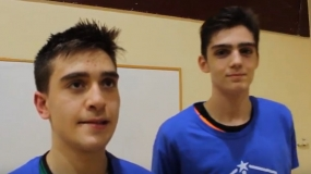 """Pedro Baena: """"Queremos irnos del colegio con el Estandarte"""""""