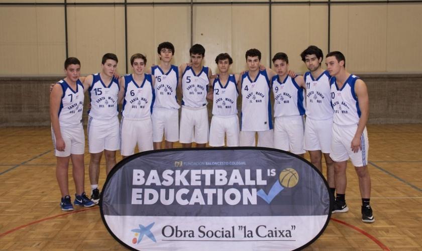 Santa Maria Del Mar Masculino 2019 Copa Colegial A Coruña