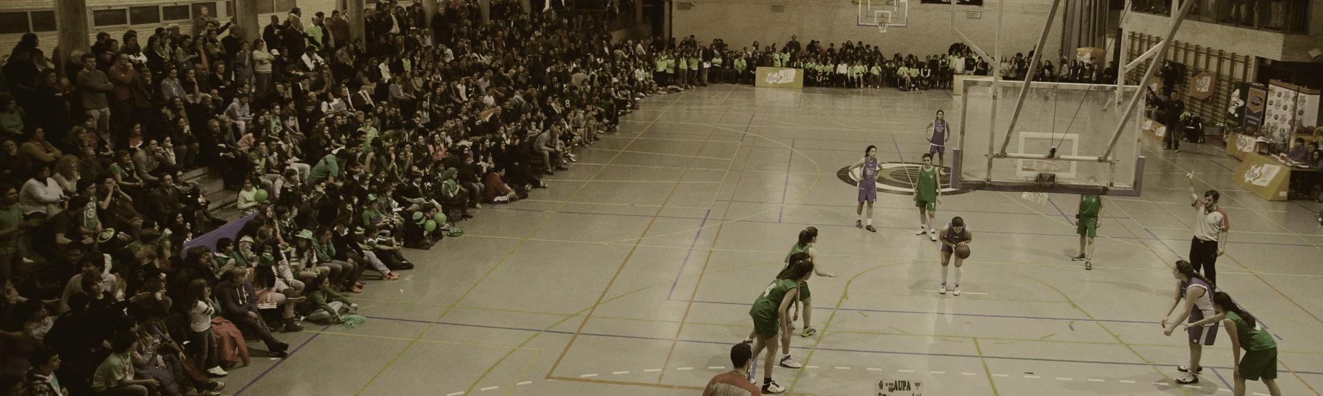 El baloncesto está en tú cole