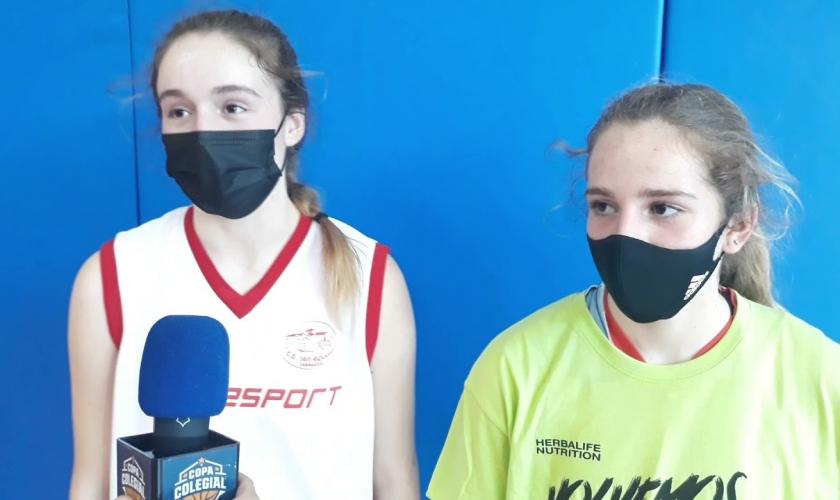Post partido Hipos - Basket Turtles: entrevista a las MVPs Wibo, Marta Carrera y Paula Zamora