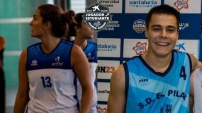 Premios Mejores Jugadores - Estudiantes  2019: Lucía López y Paco García