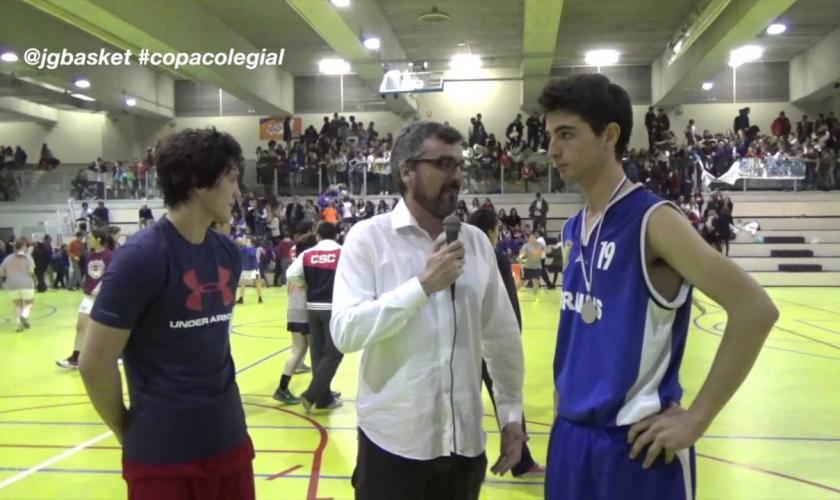 ¿Qué pueden decir dos MVP tras ser los mejores de una Final de la Copa Colegial? (VÍDEO)