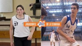 Raquel Botana y Román Vázquez, Jugadores Bifrutas de la semana