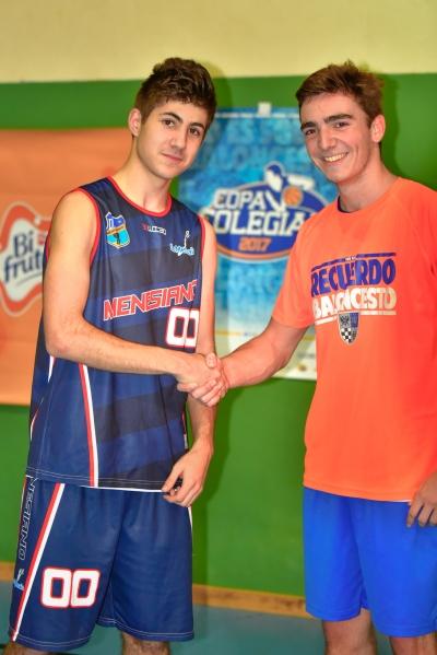 Miguel Peinado y Javier Jimeno MVPs