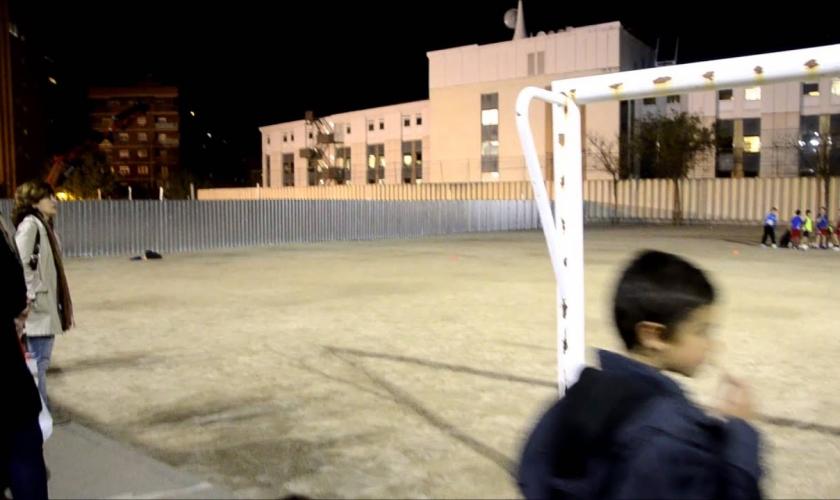 Reliquia Vintage: así es el colegio Buen Consejo en Madrid, ahora con nuevo pabellón (VÍDEO)