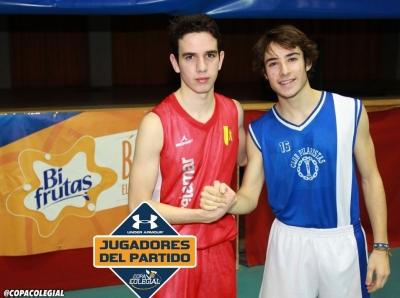 Argüello y Barandiarán MVPs