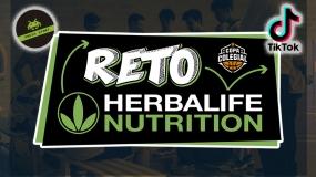 Reto Herbalife Nutrition semana 1: canasta desde detrás del tablero