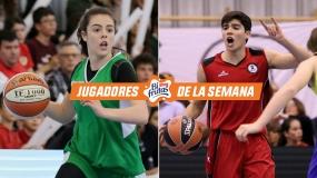 Reyes de la final: Claudia Gómez y Álvaro Jiménez, Jugadores Bifrutas de la Semana