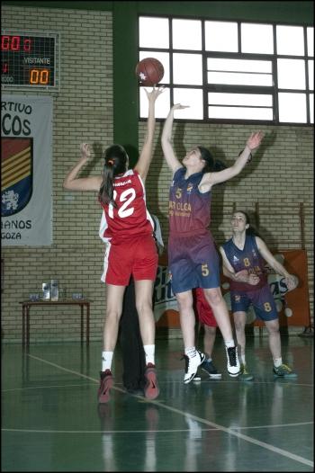 Salto inicial entre Montón y Serrano