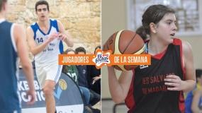 Román Vázquez y Adriana Vázquez, Jugadores Bifrutas de la semana