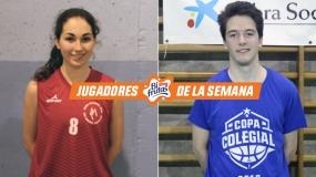 Rubio y Del Valle, Jugadores Bifrutas de la Semana 1