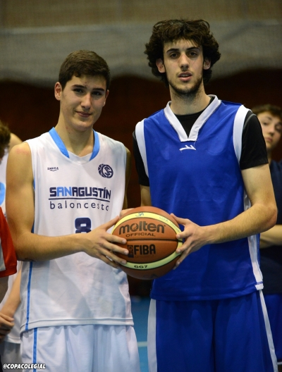 Rodrigo Lardiés y Nicolas Gonzalez, MVPs