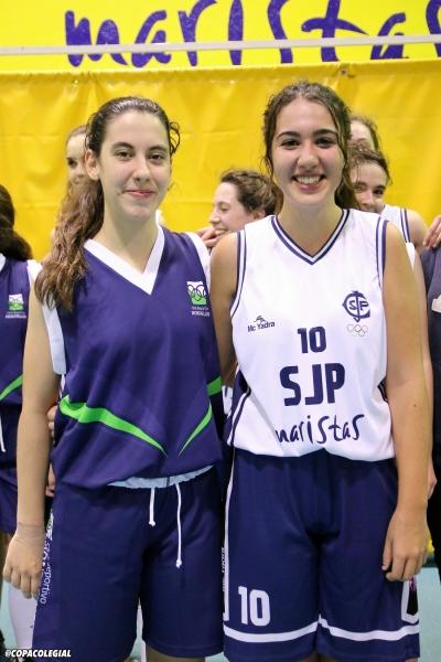 Laura Luengo y Alejandra Blázquez