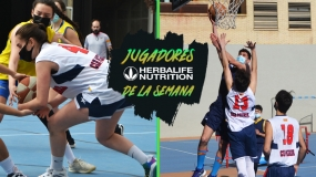 Sánchez & Balmori, Jugadores Herbalife Nutrition de la semana en Zaragoza