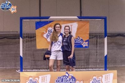 Alejandra Aguirrezabala y Alba Uxía Arca