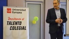 """""""Si te apasiona, inténtalo"""", Talento Colegial con José Luis Llorente"""