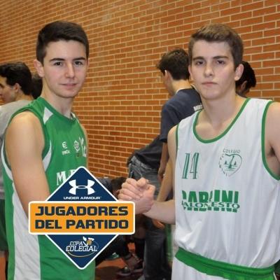 dani Guriierrez y David Pérez, MVPs