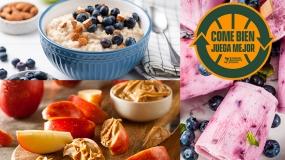 Snacks saludables que te van a encantar